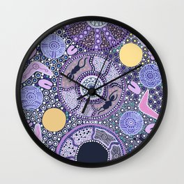 Because of her, We can Wall Clock