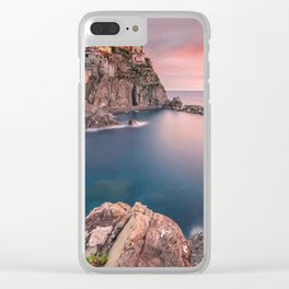 a sea view life Clear iPhone Case