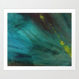 Ocean Spray Abstract Art Print