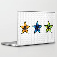 kingdom hearts Laptop & iPad Skins featuring Kingdom Hearts - Wayfinders by Lunil