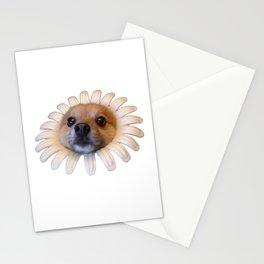 Flower Doggo Stationery Cards