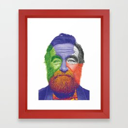 The Great RW Framed Art Print