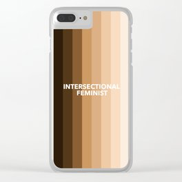 Intersectional Feminist Clear iPhone Case