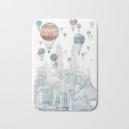 Voyages Over New York ~Refresh Bath Mat