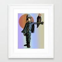 pilot Framed Art Prints featuring Pilot by thepfunkfresh