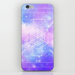 Sacred Geometry (Universal Consciousness) iPhone Skin
