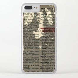 What We Do in the Shadows (Dictionary Page) Clear iPhone Case