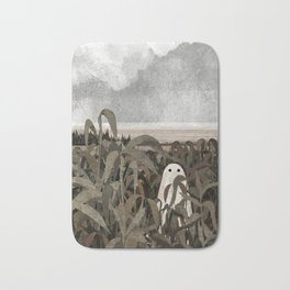 There's A Ghost in the Cornfield Again Bath Mat