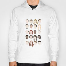 the office minimalist poster Hoody