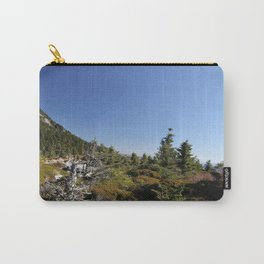 Alpine Mountain Landscape, Horizontal Carry-All Pouch