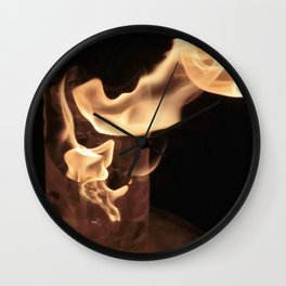 Fire from Ice - FredPereiraStudios.com_Page_55 Wall Clock