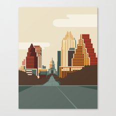 Austin Skyline Canvas Print