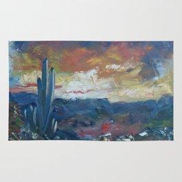 Stormy Evening Over Arizona Rug