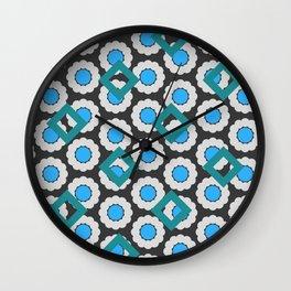 diamondcircle04_01 Wall Clock