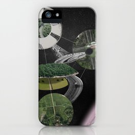 Chymical Station: Escape into Space iPhone Case