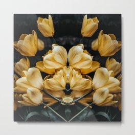 Yellow Tulips Metal Print