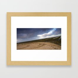 Weating for the water Framed Art Print