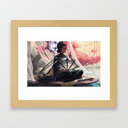 Traditional Karma League of Legends Framed Art Print