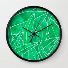 SUMMER 2017 - JUNGLE Wall Clock