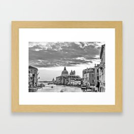 A view of Venice from the Accademia Bridge Framed Art Print
