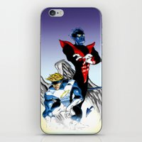nightcrawler iPhone & iPod Skins featuring Angel & Demon by Apoken