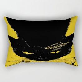 Vintage poster - Black Cat Rectangular Pillow