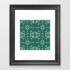 Nug Pattern Framed Art Print