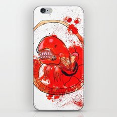 Alien chestbursting iPhone & iPod Skin