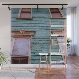Tall and Rustic Wall Mural