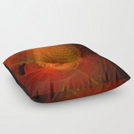 Spiraloid Floor Pillow