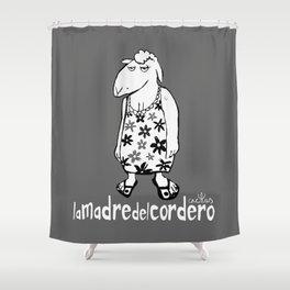 LA MADRE DEL CORDERO (aka THE LAMB'S MOTHER) Shower Curtain