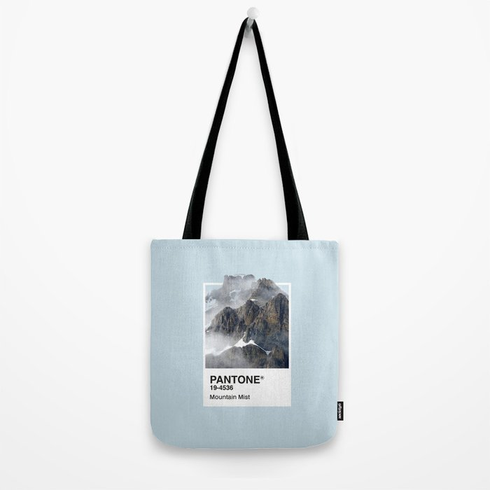 Pantone Series – Mountain Mist Tote Bag