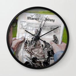SENSATION - today Wall Clock