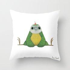 Ken the Kakapo Throw Pillow