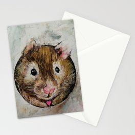 Hamster Love Stationery Cards