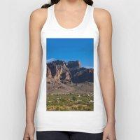 arizona Tank Tops featuring Arizona by Katie Villarreal