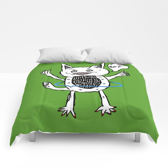 Monster Hula Hoop Comforters