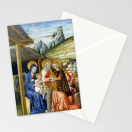 Giovanni di Paolo The Adoration of the Magi Stationery Cards