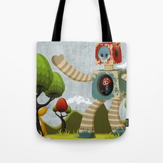 Woody Mecha Tote Bag