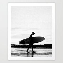 Surf Boy Art Print