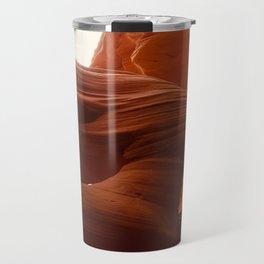 Antelope Canyon lady Travel Mug
