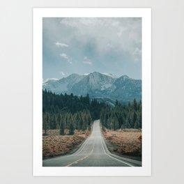 June Lake Loop Art Print
