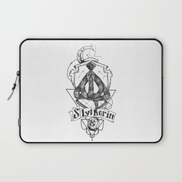 The Cunning House of Slytherin Laptop Sleeve