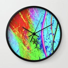 Color Tasting Wall Clock