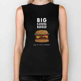Pulp Fiction - big kahuna burger Biker Tank