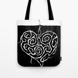 A Love that Grows Deep Tote Bag