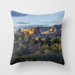 Adobe Jack Trail View, No. 2 Throw Pillow