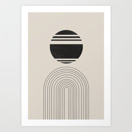 Balance IV, ARCH Art Print