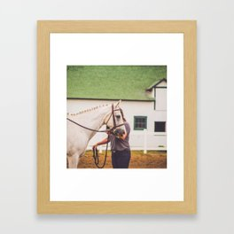 Leadline Pony Framed Art Print