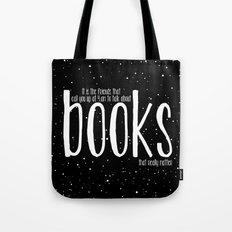 Late Night Reading - V3 Tote Bag